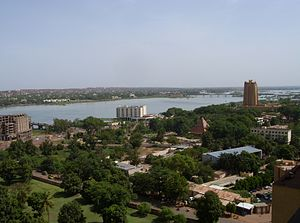 English: View of Bamako
