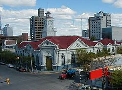 Trelew city centre
