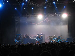 Progressive metal - Opeth playing live May 30, 2009