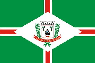 Santa Rita, Paraíba - Image: Bandeira Santa Rita PB