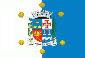 Angra dos Reis - Image: Bandeira de Angra dos Reis