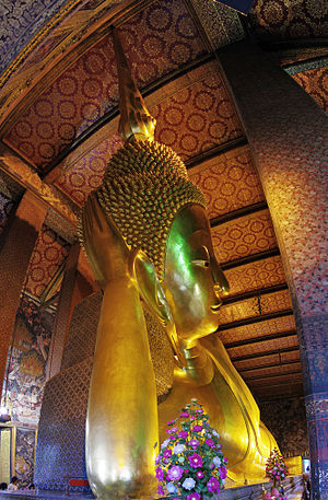 Wat Pho - View of the Reclining Buddha