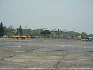 Bangladesh Air Force - Bell 206 Long Ranger of Bangladesh Air Force.