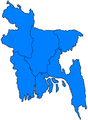 Bangladesh divisions flood hit between July 3 and August 15 2007.png