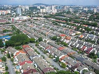 Bangsar Place in Federal Territory of Kuala Lumpur, Malaysia