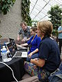 Barbican conservatory terrace at 12-30pm on Friday of Wikimania 2014 03.jpg