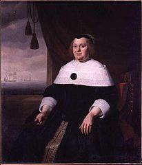 Portrait of Maria Smit, wife of Gideon de Wildt