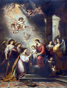 dbe9fcac3 La muerte sorprendió a Murillo cuando trabajaba en las pinturas para el  retablo mayor de la iglesia ...