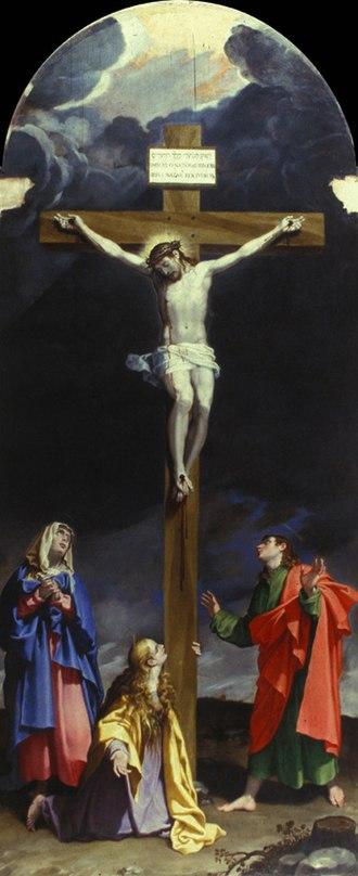 Bartolomeo Cesi - Image: Bartolomeo Cesi Crucifixión Certosa
