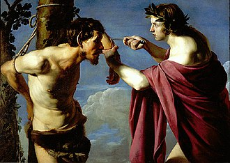 Saint Louis Art Museum - Image: Bartolomeo Manfredi Apollo and Marsyas