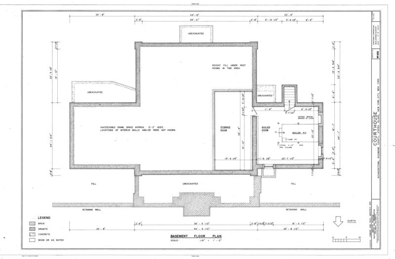 File Basement Floor Plan Courthouse Staten Island