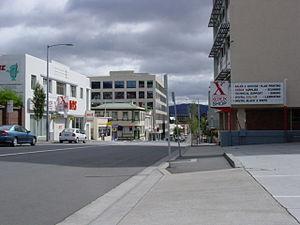 Bathurst Street, Hobart, Tasmania