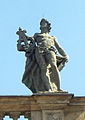 Bayreuth Dachfiguren Opernhaus 09a (Apollo, Kopie), 07.09.09.jpg