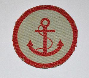 Beach groups - Shoulder insignia worn by beach groups