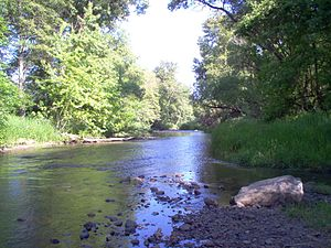 Bear Creek (Rogue River) - Bear Creek in Medford, Oregon