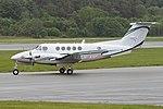 Beechcraft B200 Super King Air 'LN-ANP' (44064303775).jpg
