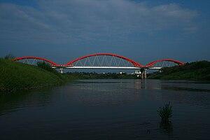 Beigang, Yunlin - Image: Beigang Tourist Bridge