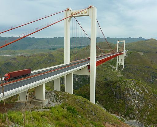 Beipanjiang Highway Suspension Bridge-1