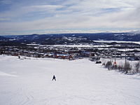 Beitostølen, view towards town centre.JPG