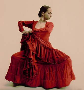 Flamenco is an Andalusian artistic form that evolved from the Seguidilla. Belen maya.jpg