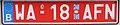 Belgium temporary license plate.jpg