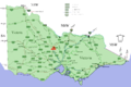 Bendigo location map in Victoria.PNG
