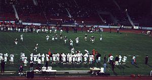 Eurobowl - Image: Bergamo Lions vs London Olympians, Eurobowl 1994