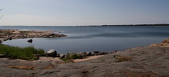 Sea of Åland - The Sea of Åland, seen from Eckerö island