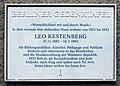 Berliner Gedenktafel Barstr 12 (Wilmd) Leo Kestenberg.jpg