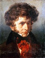 Berlioz when a student at the Villa Medici, 1832 (Source: Wikimedia)