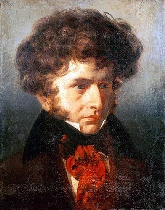 Hector Berlioz - Painting of a young Berlioz by Émile Signol, 1832.