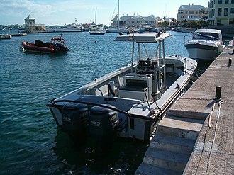 Boston Whaler - A Boston Whaler of the Bermuda Police Service