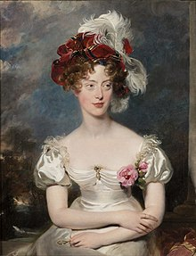 Ducesa de Berry, pictură de Thomas Lawrence, 1825.