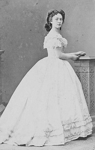 Bertha von Suttner - Von Suttner in 1873