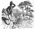 Berthold Auerbach, Schwarzwälder Dorfgeschichten, Der Tolpatsch auf Urlaub.jpg