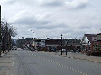 Berwick, Nova Scotia - Berwick's commercial street