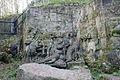 Betlém u Kuksu - reliéf Klanění Tří králů.jpg