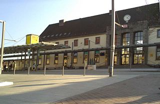 Donauwörth station railway station in Donauwörth, Germany