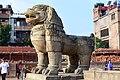Bhaktapur lion statue.jpg