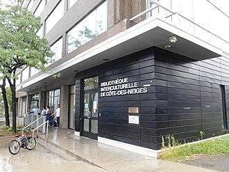 Côte-des-Neiges - Bibliothèque interculturelle de Côte-des-Neiges