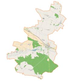 Mapa lokalizacyjna gminy Bierutów