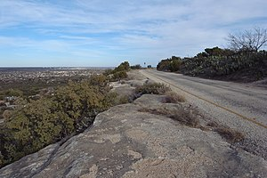 Big Spring State Park (Texas) - Image: Big Spring State Park Scenic Drive 2009