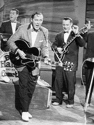 Franny Beecher - Bill Haley and Franny Beecher (right), 1958