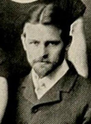 Bill Wertenbaker - Wertenbaker cropped from the 1901 Washington and Lee gymnasium team photo
