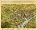 Bird's eye view of the City of Bangor, Penobscot County, Maine, 1875 LOC 83694326.tif