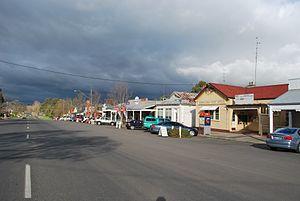 Birregurra - Main street