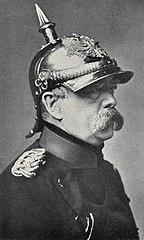 Retrato de Bismarck.