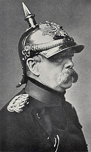 Otto von Bismarck became Chancellor of Germany in 1871.