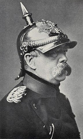 Бисмарк на посту канцлера Германии, 1871 год