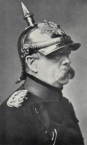 German Empire - Otto von Bismarck, the visionary statesman who unified Germany with the help of his skillful political moves and the exploitation of encountered opportunities